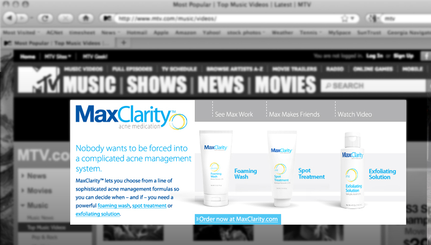 MaxClarity Rich Media